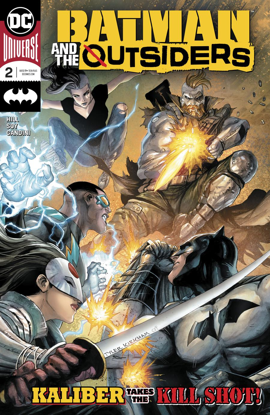 Batman & the Outsiders # 2
