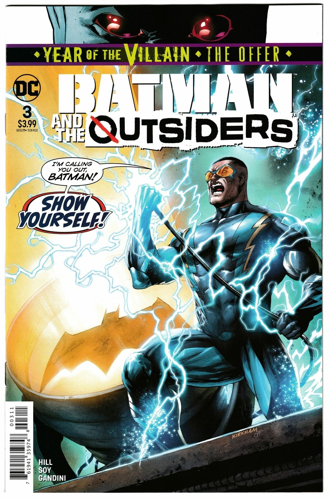 Batman & the Outsiders # 3