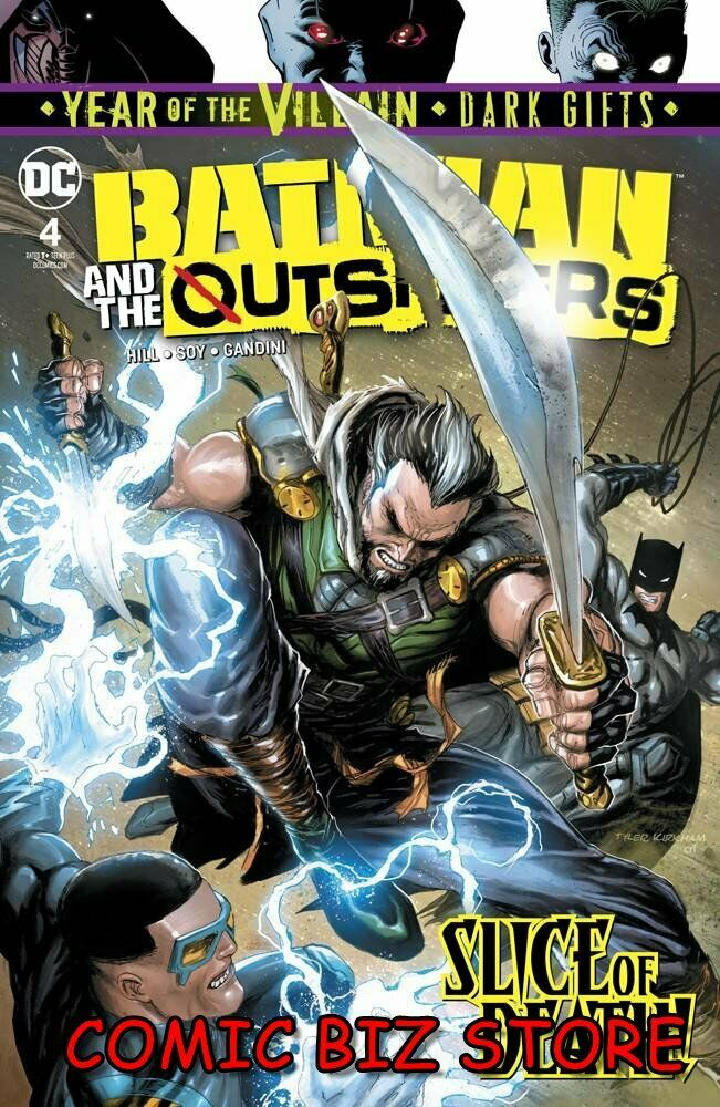 Batman & the Outsiders # 4
