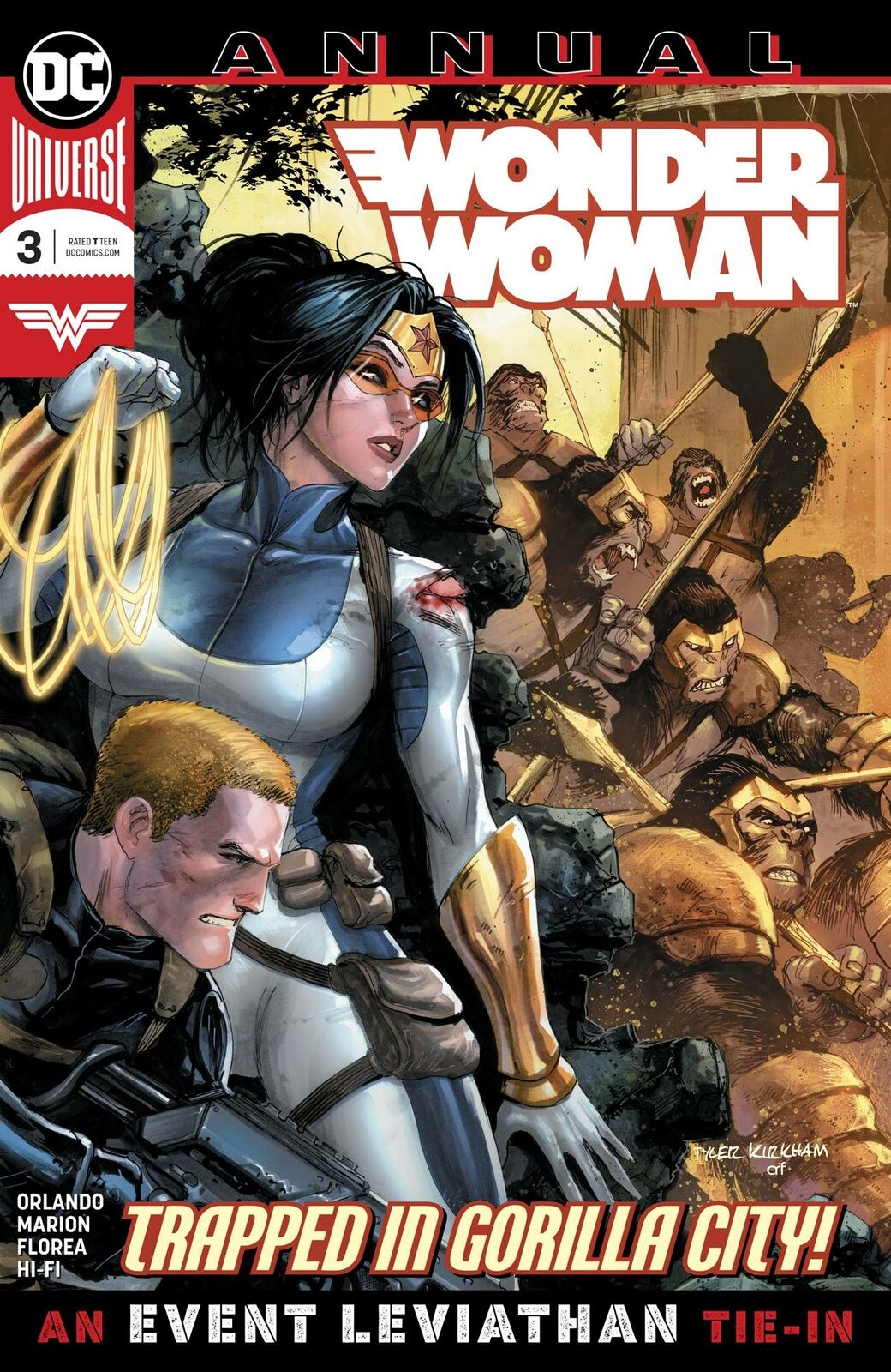 Wonder Woman Annual # 3