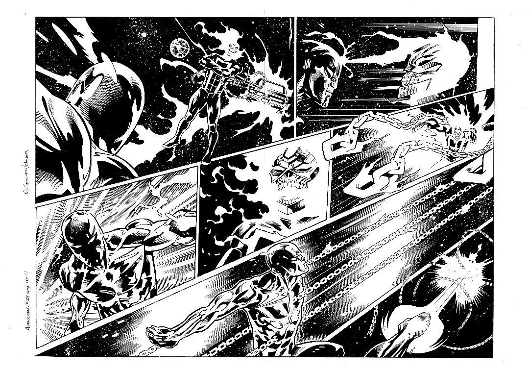 Avengers #28 pg10 & 11