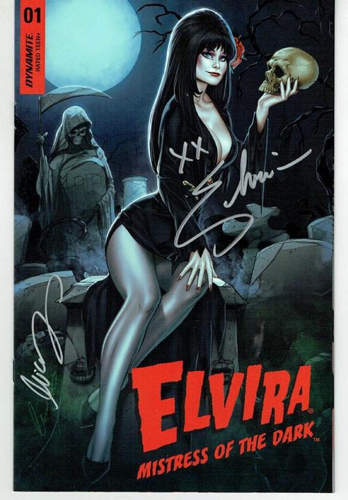 Elvira #1 Signed