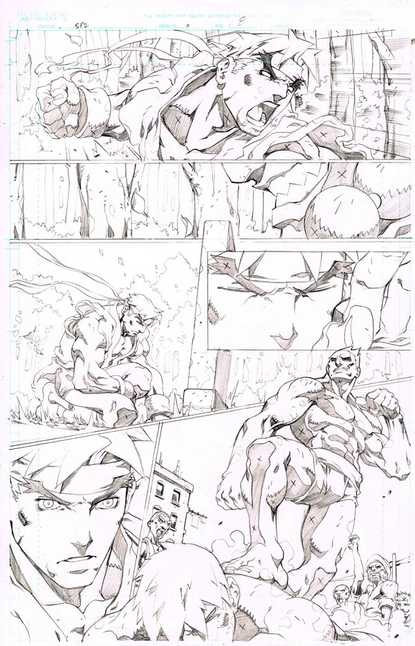 Street Fighter II # 0 pg 8
