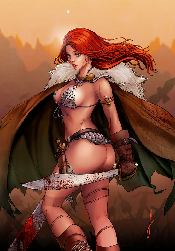 Red Sonja : Age of Chaos #4