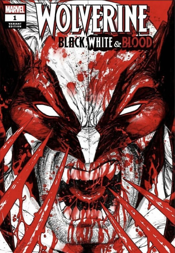 Wolverine: Black, White, & Blood # 1