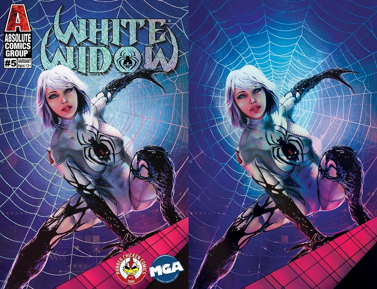 White Widow # 5 Cover A & B