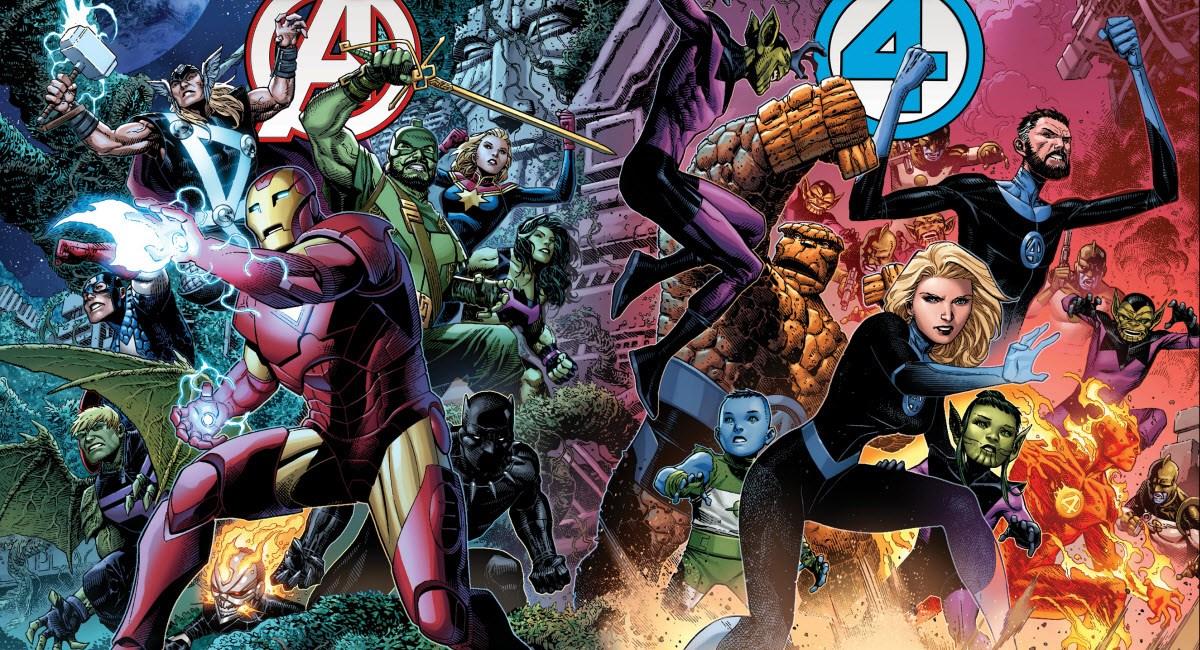 Empyre # 0 Avengers Fantastic 4