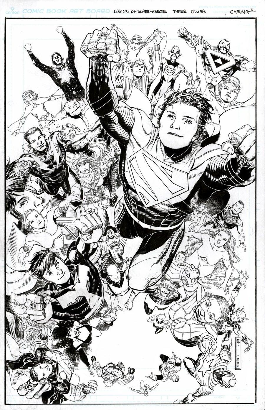 Legion of Super Heroes # 3
