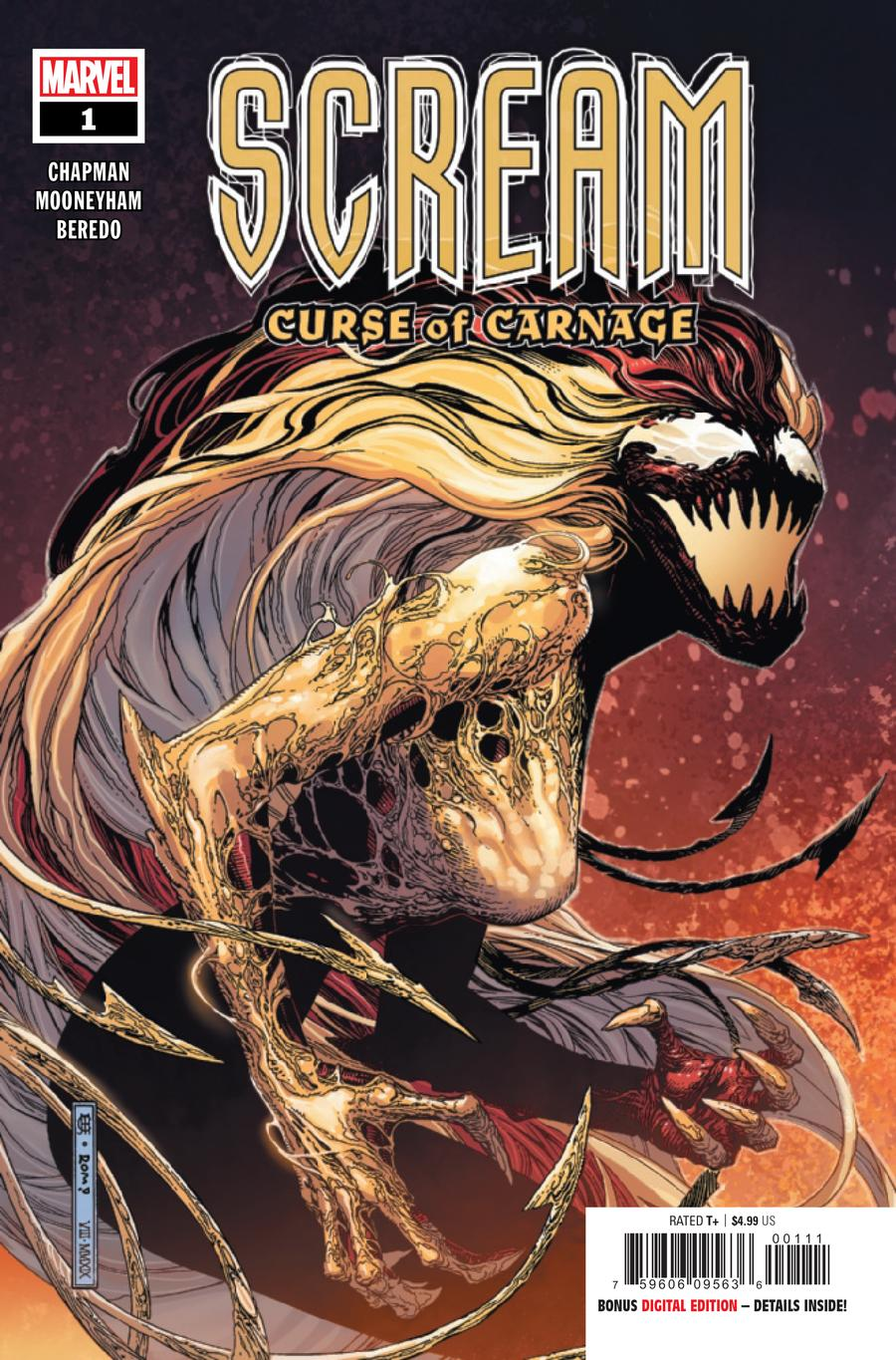 Scream: The Curse of Carnage # 1