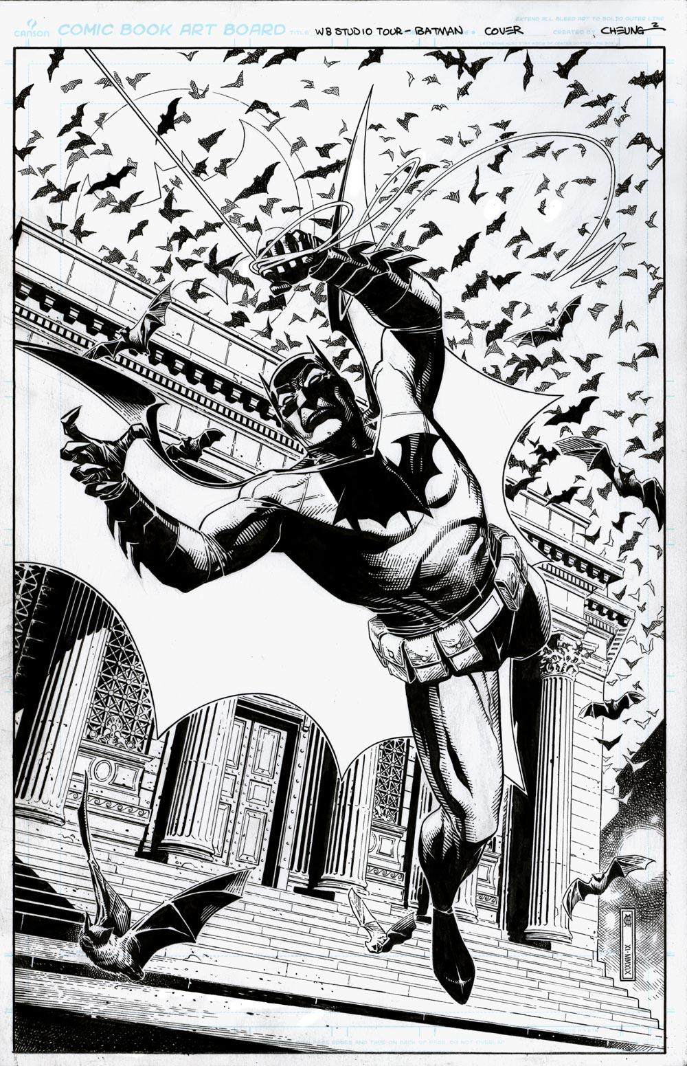 Batman: I am Gotham WB Exclusive TPB Cover