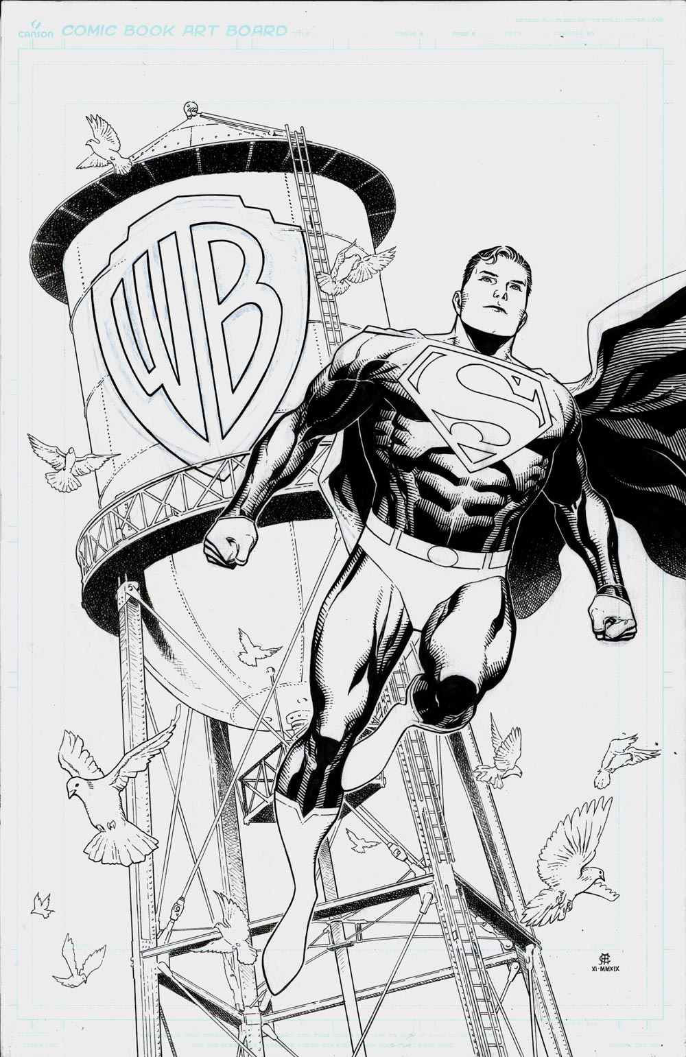 Superman: Son of Superman WB Exclusive TPB Cover