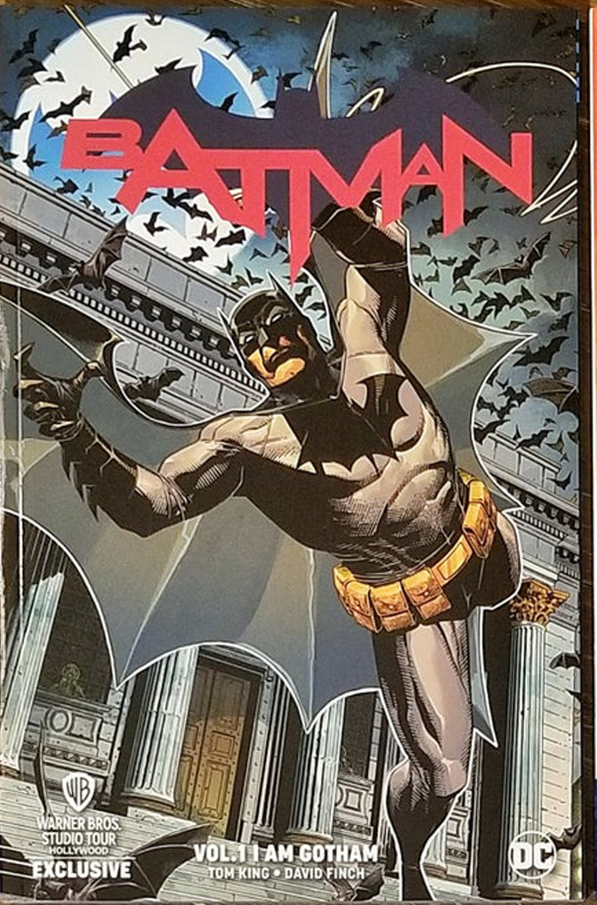 Batman: I am Gotham WB Exclusive TPB Cover