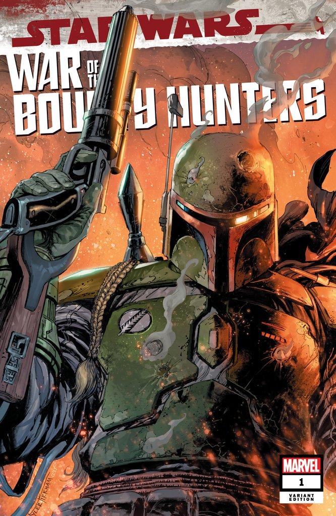 STAR WARS: WAR OF THE BOUNTY HUNTERS # 1