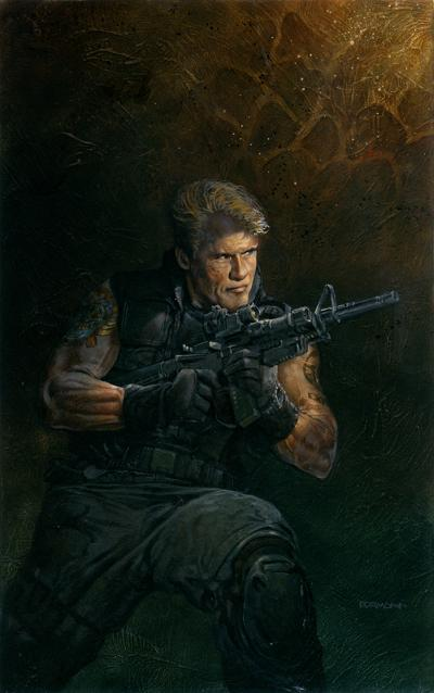 DOLPH LUNDGREN (The Expendables)