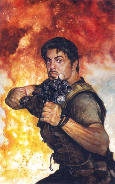 Expendables Go To Hell (Sly Stallone) Graphic Novel