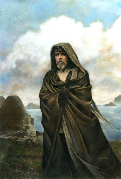 Luke Skywalker (Old Hermit)